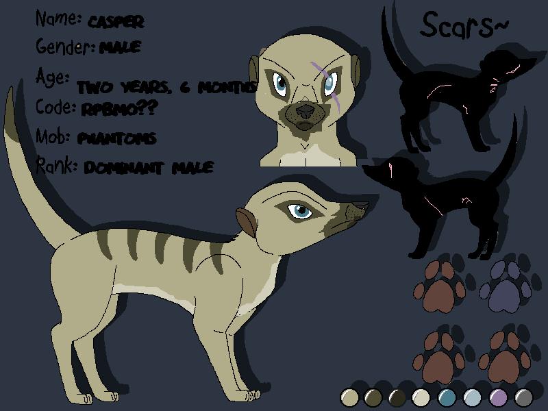 Stormy's Character Designs v2 Casper10