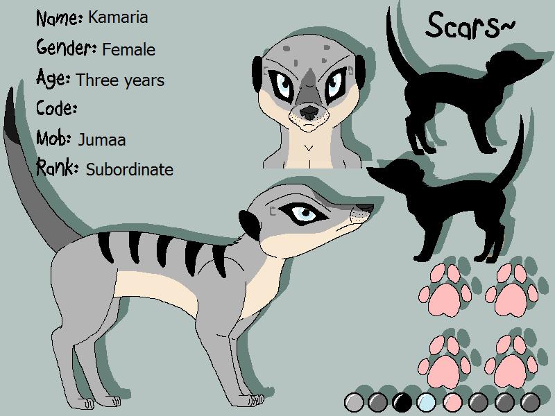 Stormy's Character Designs v2 Kamari10