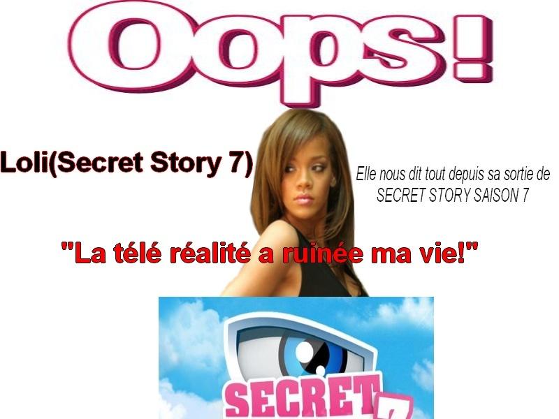 Oops - Loli (secret story 7) = Elle nous dit tout ! Oopsit10