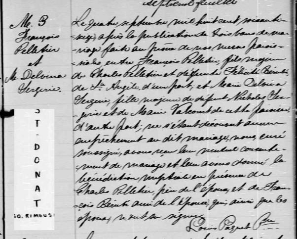 décès de Delvina St-Jore épouse de François Pelletier D1p_1710