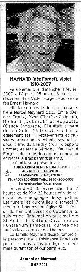 Louis (Lewis) Morissey et Élise (Dion) + F-X Forget Forget12