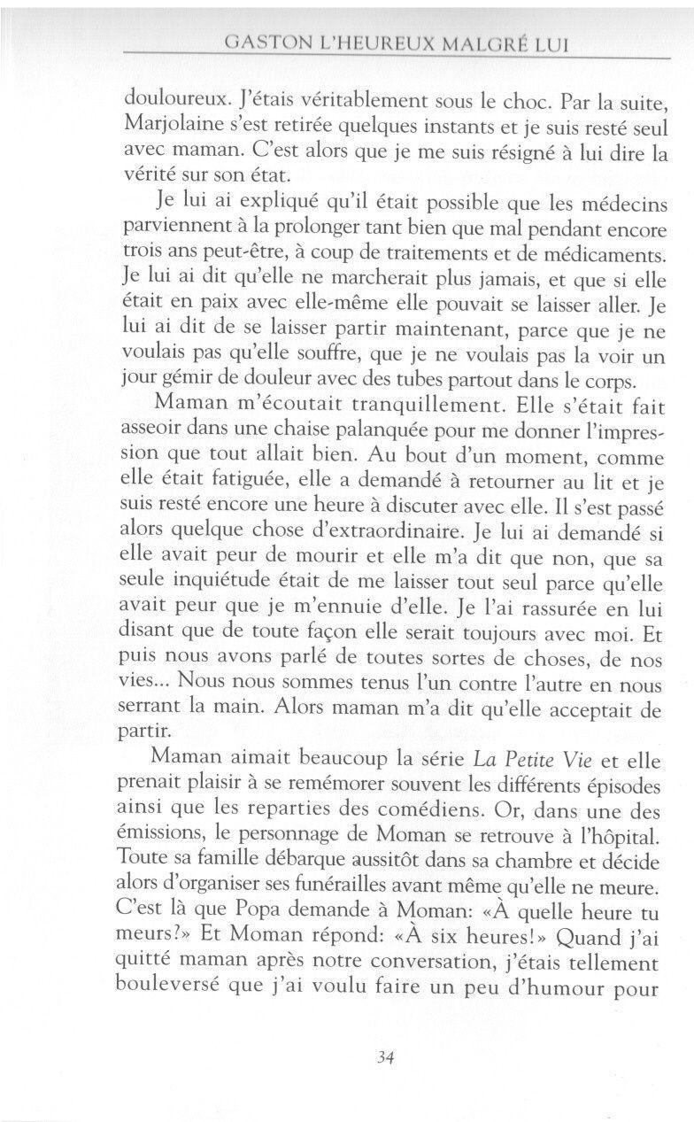 Gaston l'Heureux - Animateur de TV & Radio - Page 2 Malgra19