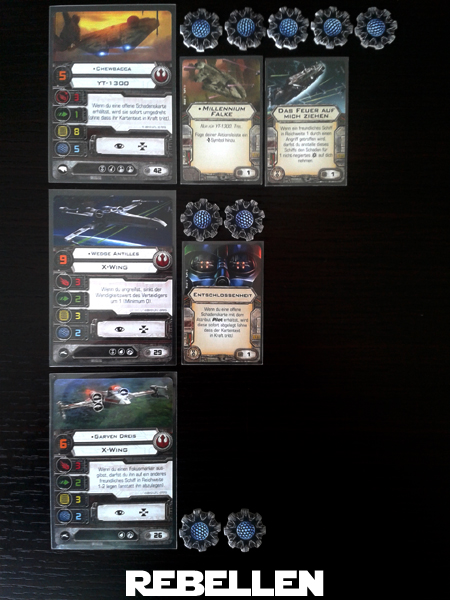 X-Wing Batrep#5 Rebell13
