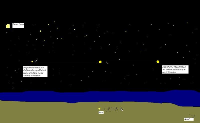 1987: le 15/08 à Entre 10h30 et 11H30 - Boules lumineuses - Le Crotoy  - Somme (dép.80) Ovni210