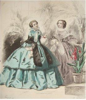 Costume femme 1860-210