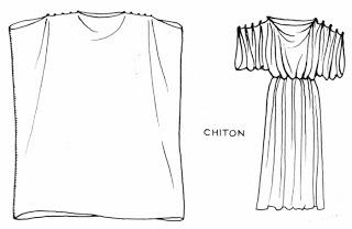 Costume romain Chiton10