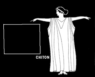 Costume romain Chiton11