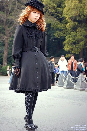 La mode lolita Gothic10
