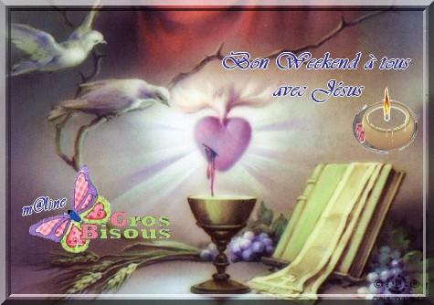 ....les souhaits au quotidien....merci- bonjour- bonsoir....(septembre) - Page 2 Bon_we10