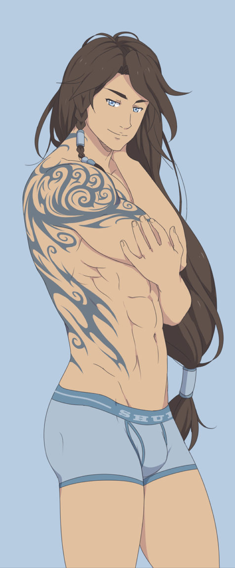 Isan Sui (Water Bender & Water Avatar) The_le10