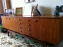 ID Teak sideboard with 'faceted' teak handles Kgrhqj13
