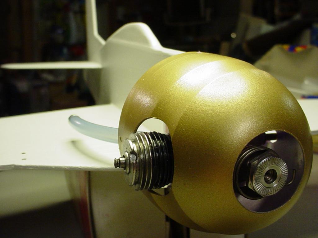 Prop hub nut 3-27-111