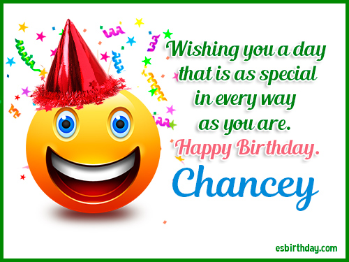 Happy birthday New222 Chance10