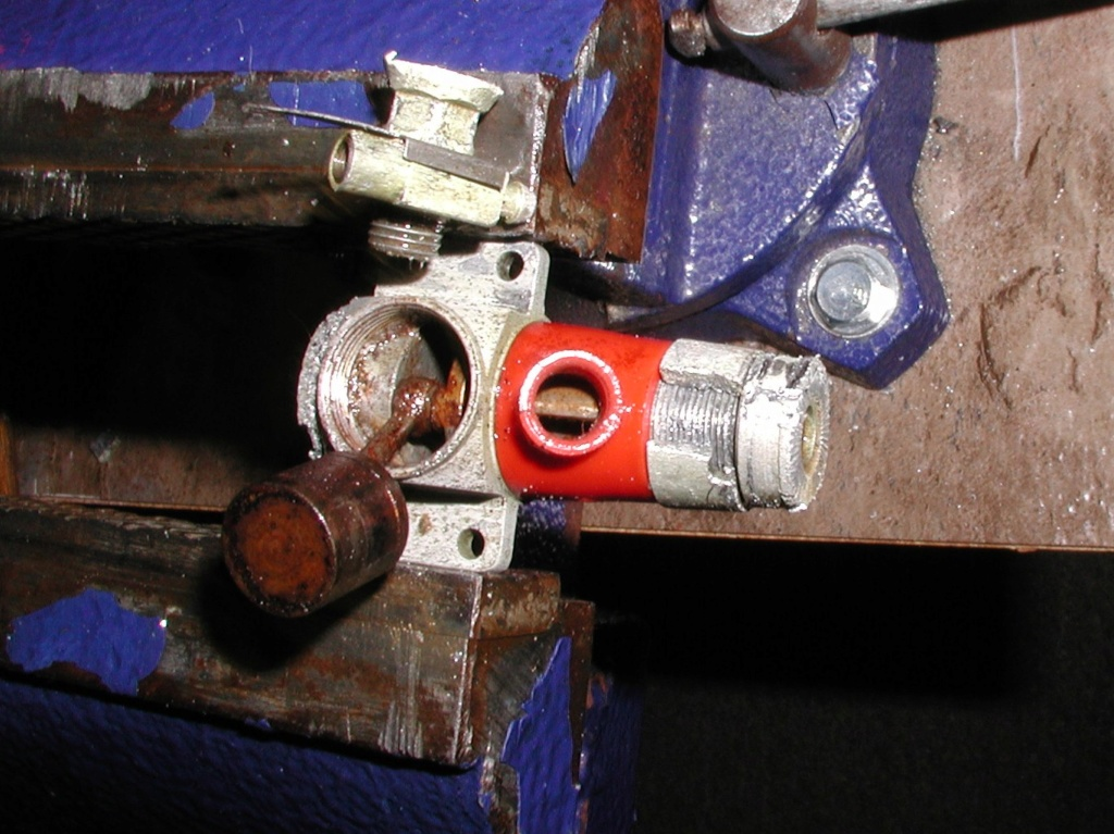 Cox Burned Engines, An update sometimes sad....... Evapo-10