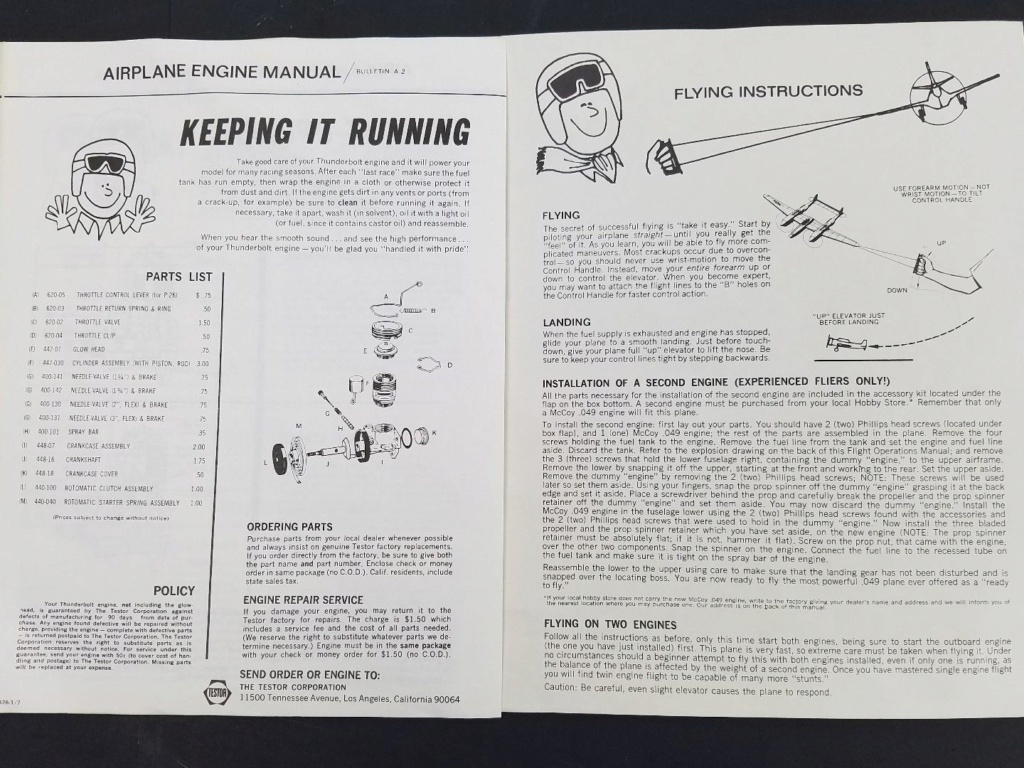 Wen Mac/Testors P-38 Lightning info/manuals P-38_l12