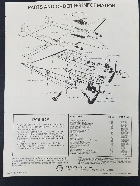 Wen Mac/Testors P-38 Lightning info/manuals P-38_l13