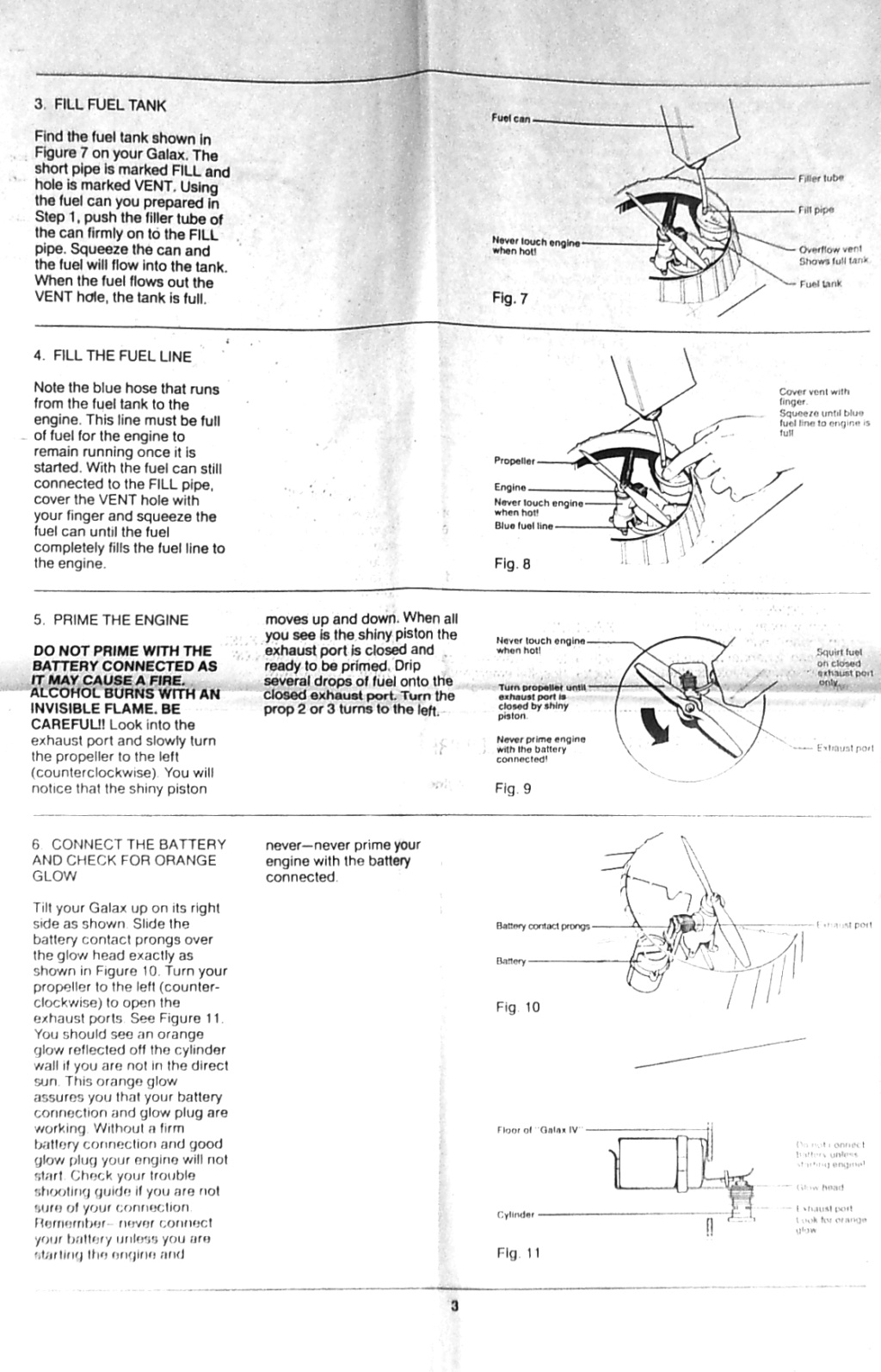 Testors Galax IV & how to remove the motor backplate? Page310