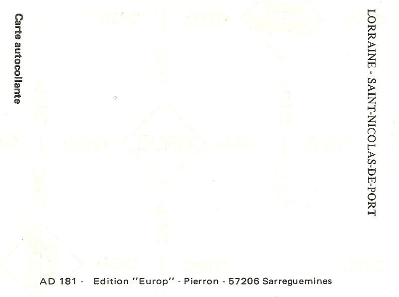 L'autocollant pour la voiture de tout Lorrain qui se respecte... - Page 4 Numari14