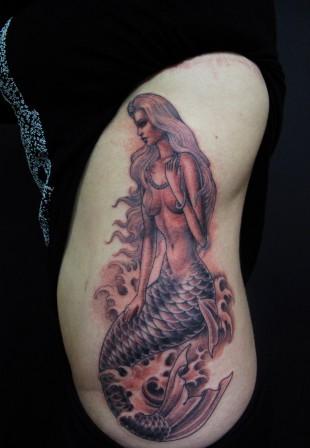 image tatouage  Mermai10