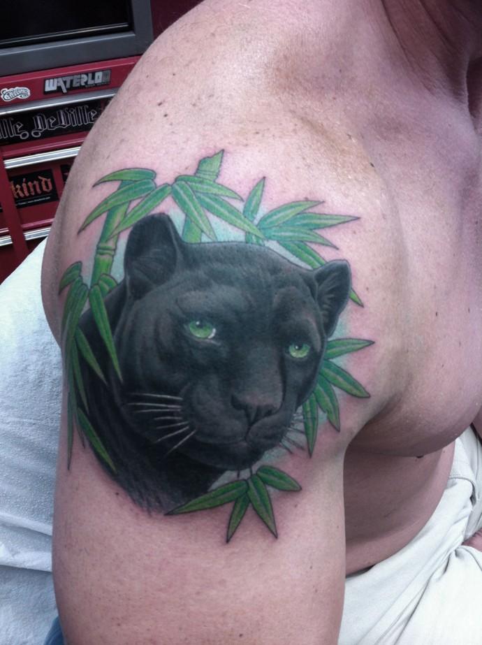 image tatouage  Panthe10