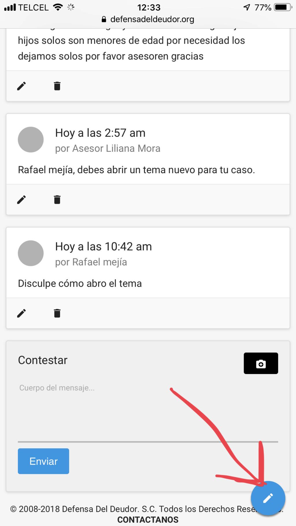 NOTIFICACIÓN DE DEMANDA DE PAGO   A466e910