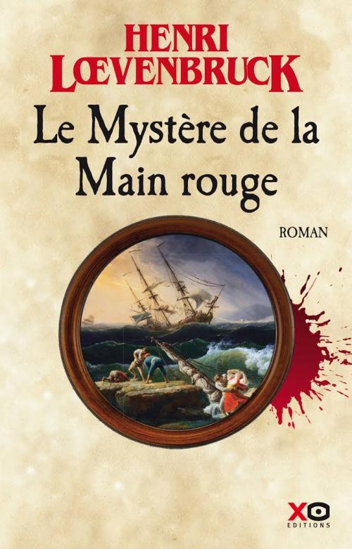 [Lœvenbruck, Henri] Le Mystère de la main rouge Couv1310