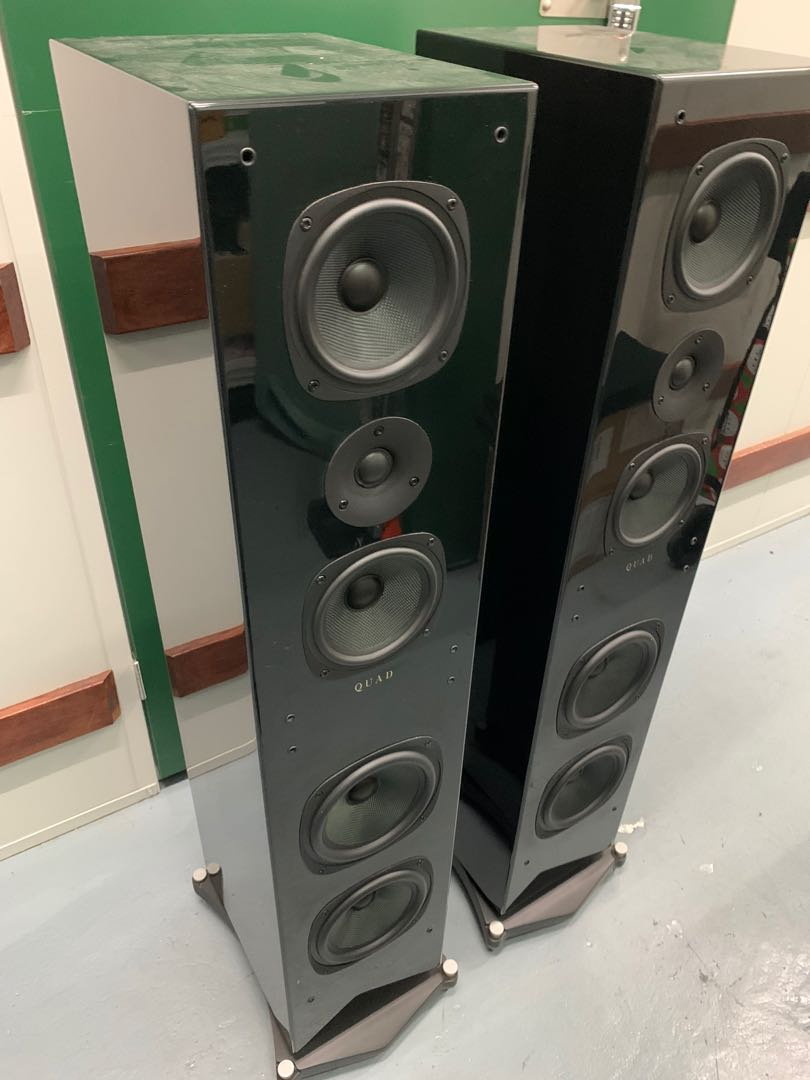 QUAD HI FI SPEAKERS - QUAD 25L Floorstand and Signature Centre Speaker Quad_213