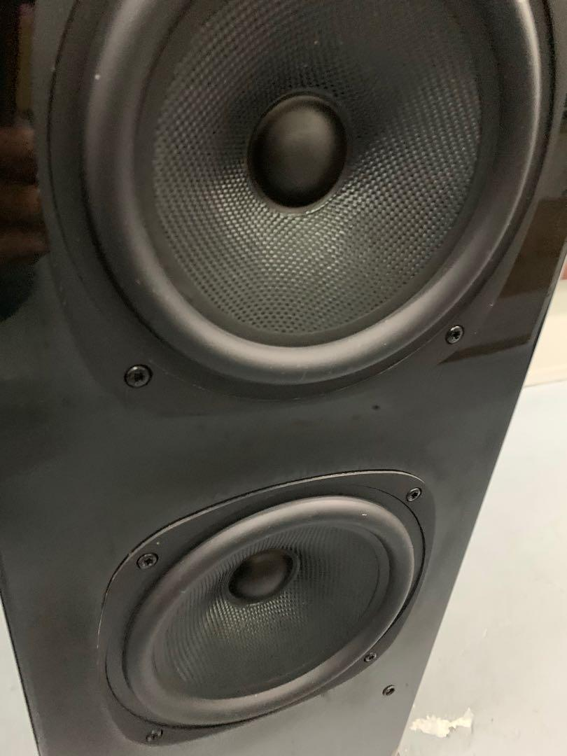QUAD HI FI SPEAKERS - QUAD 25L Floorstand and Signature Centre Speaker Quad_214