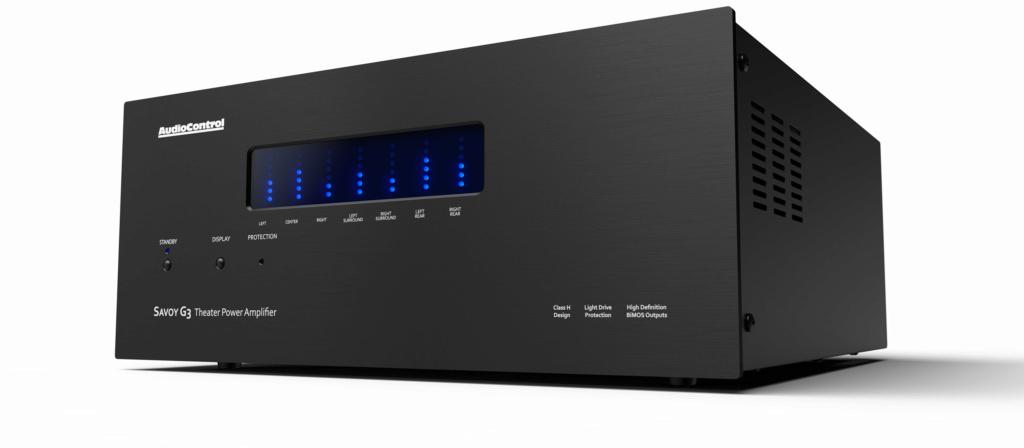 AudioControl Savoy G3 Multi Channel Power Amp (7 Channel x 203w ) with Box Savoy-10