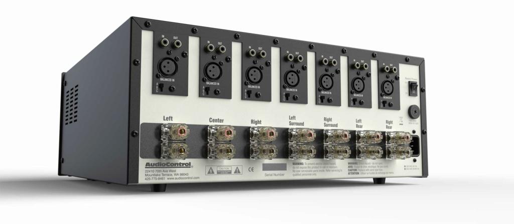 AudioControl Savoy G3 Multi Channel Power Amp (7 Channel x 203w ) with Box Savoy-11
