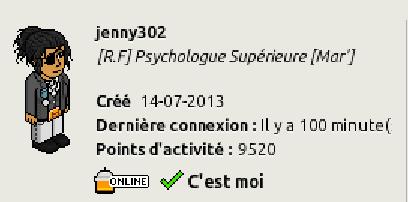 [C.H.U] Rapports d'activités de jenny302 Captur24