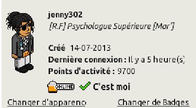 [C.H.U] Rapports d'activités de jenny302 Ra310