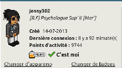 [C.H.U] Rapports d'activités de jenny302 - Page 2 Rappor13