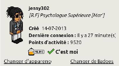 [C.H.U] Rapports d'activités de jenny302 Screen24
