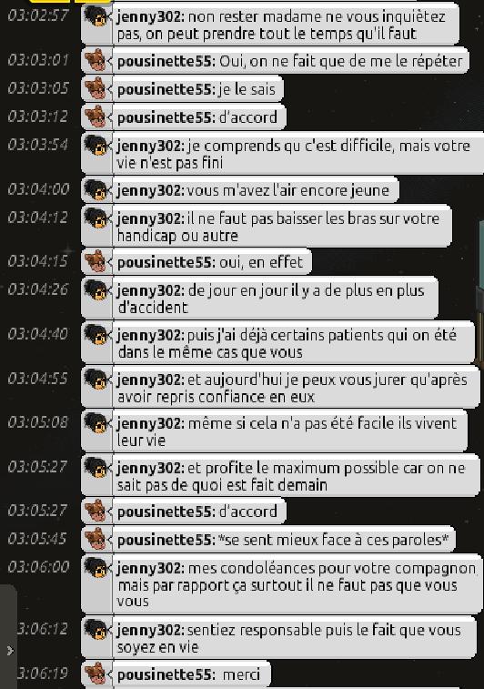 [C.H.U] Rapports d'actions RP de jenny302 Screen59