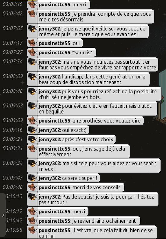 [C.H.U] Rapports d'actions RP de jenny302 Screen60