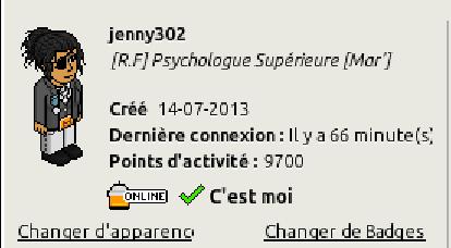 [C.H.U] Rapports d'activités de jenny302 Screen80