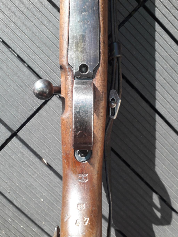 Mauser k98k BYF41 monomatricule et intouché depuis 74 ans 20180759