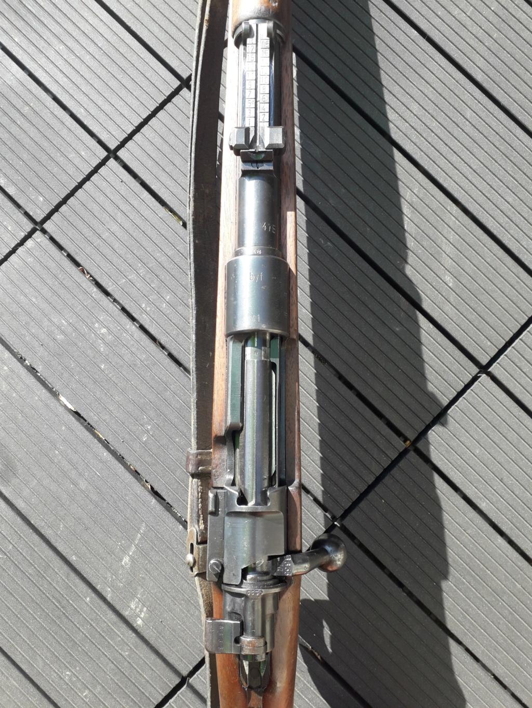 Mauser k98k BYF41 monomatricule et intouché depuis 74 ans 20180761