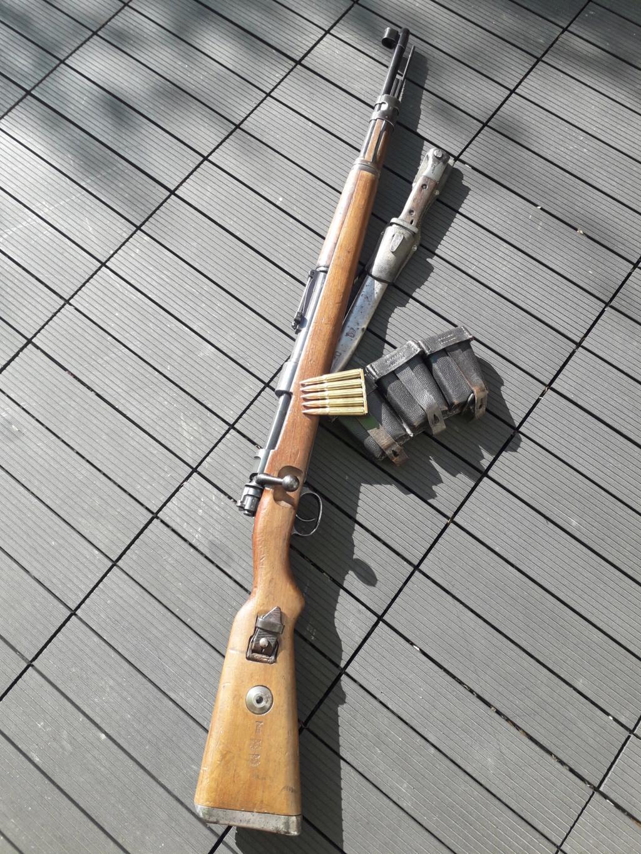 """Mauser 98k """"BYF41""""  20180764"""