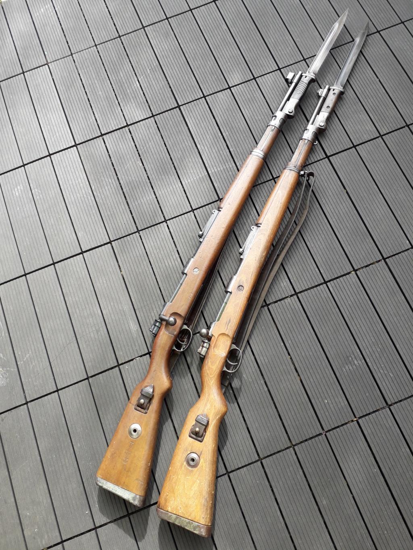 Mauser k98k BYF41 monomatricule et intouché depuis 74 ans 20180812