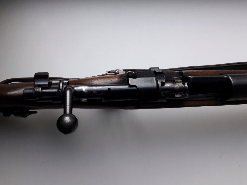 Mauser k98k BYF41 monomatricule et intouché depuis 74 ans 20181124