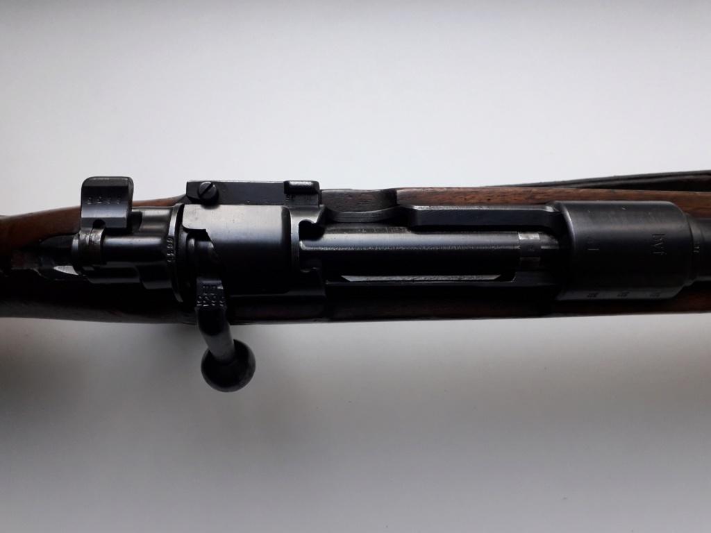 Mauser k98k BYF41 monomatricule et intouché depuis 74 ans 20181125