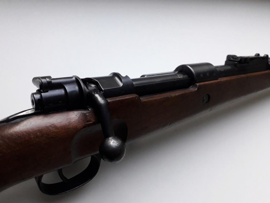 Mauser k98k BYF41 monomatricule et intouché depuis 74 ans 20181126