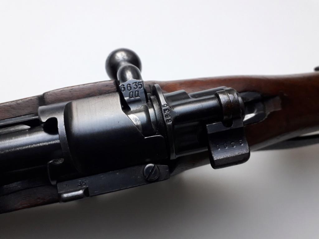 Mauser k98k BYF41 monomatricule et intouché depuis 74 ans 20181128