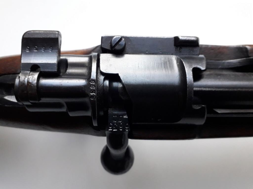 Mauser k98k BYF41 monomatricule et intouché depuis 74 ans 20181142