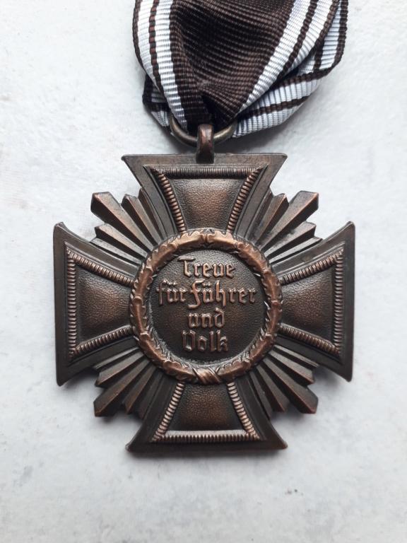 Médaille nsdap dienstauszeichnung En Bronze à identifier 20190415
