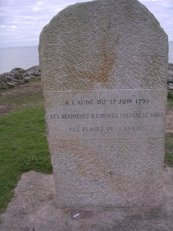 Sur les traces des guerres de Vendée et de la Chouannerie - Page 3 Carnac10