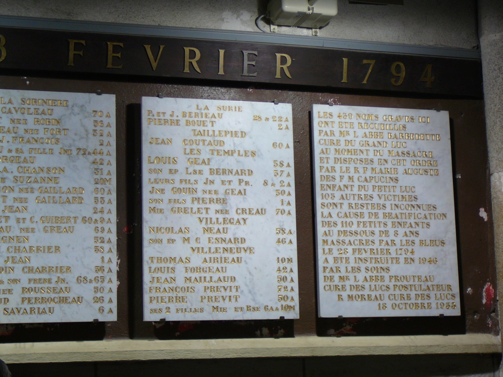 Sur les traces des guerres de Vendée et de la chouannerie bretonne P1030213