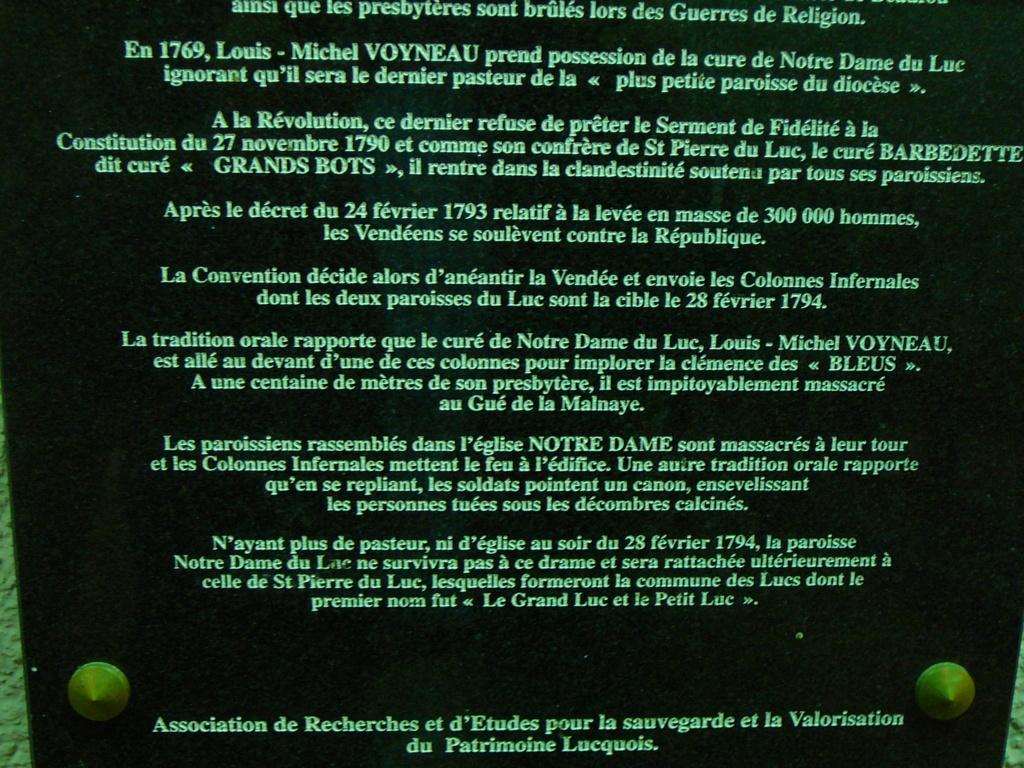 Sur les traces des guerres de Vendée et de la chouannerie bretonne P1030214